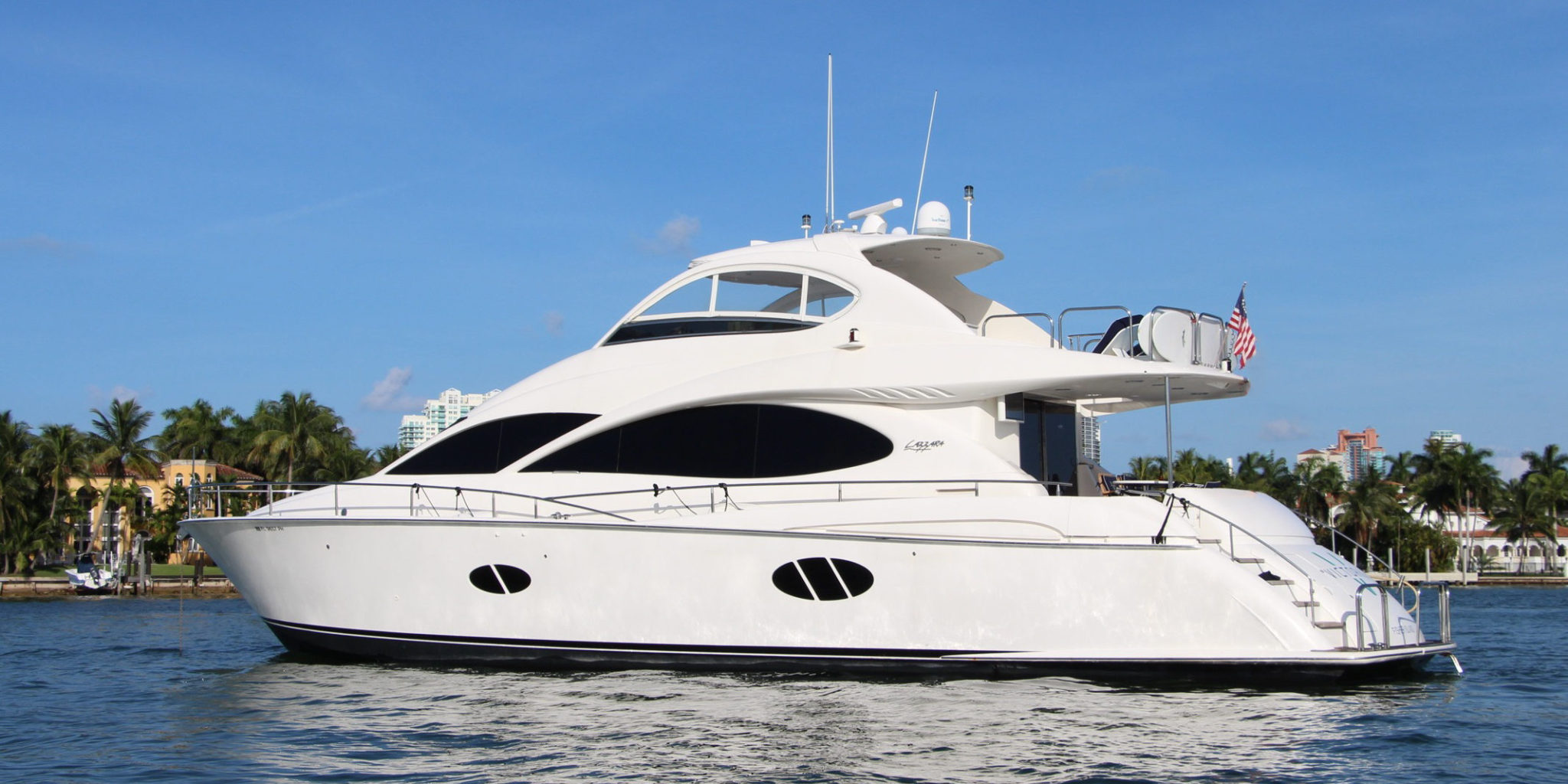 Lazzara 70' Water Time Charter